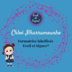 Logo réseaux sociaux formatrice Chloé