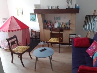 Salle d'attente du Cabinet L'Espace des Liens à DAX